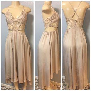 d93013ef4d1b Charlotte Russe Dresses | Fp Selena Gomez Inspired Maxi Boho Lace ...